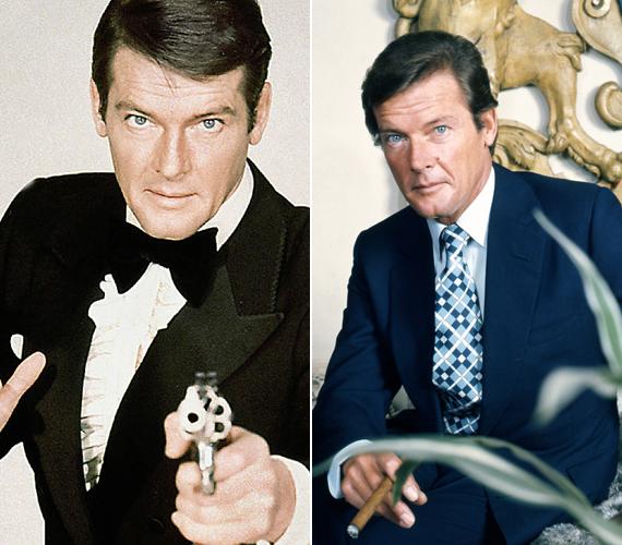 1973-ban bújt először James Bond bőrébe az Élni és halni hagyni című filmben. Ezután még hétszer játszotta el a sármos titkosügynököt, ezzel pedig a mai napig ő tartja a rekordot a James Bondot alakító sztárok között.