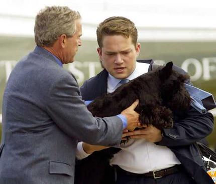 Bush átadja a staféta botot