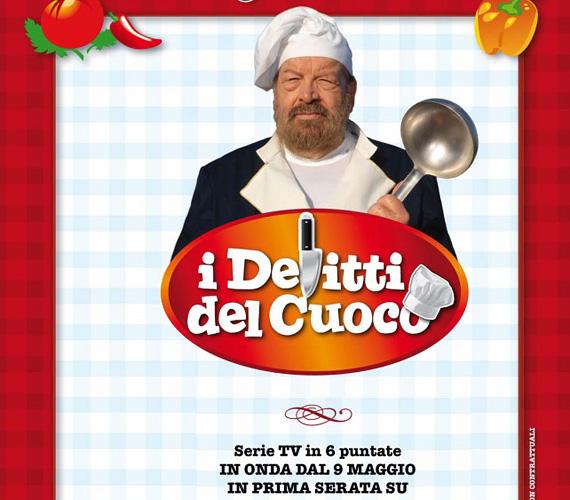 Eredeti cím: I delitti del cuoco (Bűnöző szakácsok), műfaj: krimi-vígjáték. Nem csak amerikai sorozatok esnek áldozatul a címferdítésnek. Bud Spencer jelenleg is futó sorozatában egy nyugdíjba vonult rendőrfőnököt alakít, aki egy kis éttermet vezet, és egykori bűnözők dolgoznak a konyhán. Az olasz cím is erre utal - körülbelül bűnöző szakácsokat jelent -, de itthon kerestek valami jobban csengőt, ami a színész korábbi sikerfilmjeinek egyikét idézi meg: így lett belőle Nincs kettő séf nélkül.