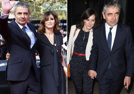 24 év után cserélte le Rowan Atkinson 55 éves feleségét, akivel két gyermeket nevelt együtt. Az új barátnő akár a lánya is lehetne a színésznek.