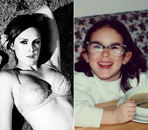 Miből lesz a cserebogár? Rumer nem tartozott a legszebb kislányok közé, már viszont igazi bombázó lett.
