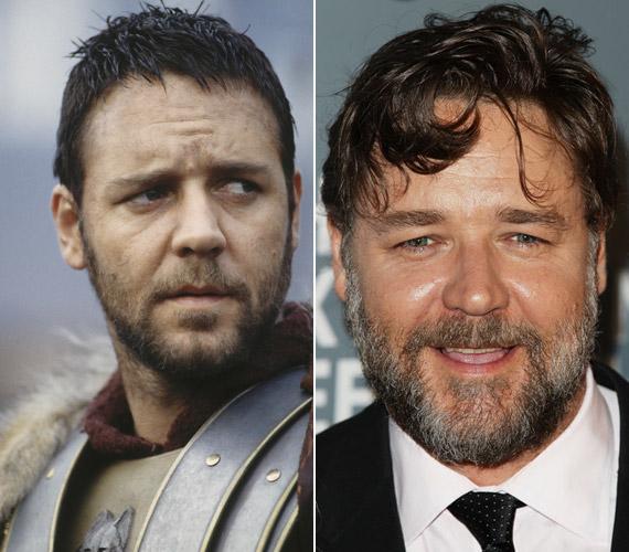 A színész látványosan megöregedett az ezredfordulón készült filmje, a Gladiátor óta.