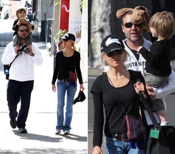 A sztárnak a családja a mindene: feleségével, Danielle Spencerrel két kisfiuk van.
