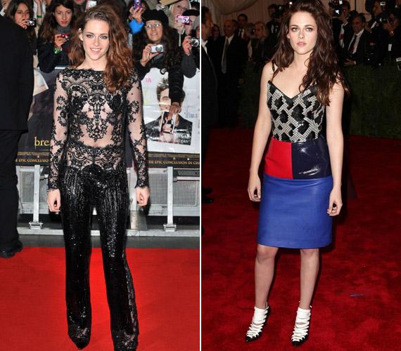 Kristen Stewart szinte már híres arról, hogy nem mindig a megfelelő öltözetet választja.