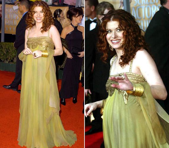 Debra Messing Bollywood-ihletésű ruhája sem bizonyult győztes választásnak.