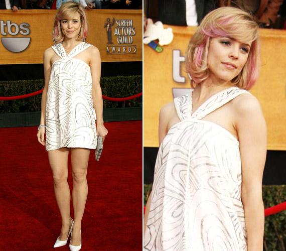 Rachel McAdams általában gyönyörű, 2007-ben azonban nagyon melléfogott, ami a ruháját illeti.