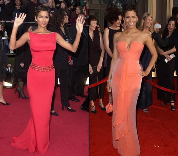 Halle Berry 2001-ben és 2003-ban is elnyerte a legjobban öltözött híresség díját.