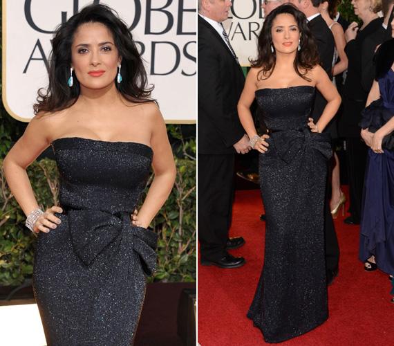 Az idei Golden Globe-on is kitett magáért: csillogó, fekete estélyijét egy nagy masni dobta fel.