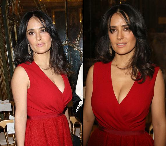 Nem csoda, ha a többi vendégre szinte senki nem figyelt, vörös ruhájában az est szépe volt.