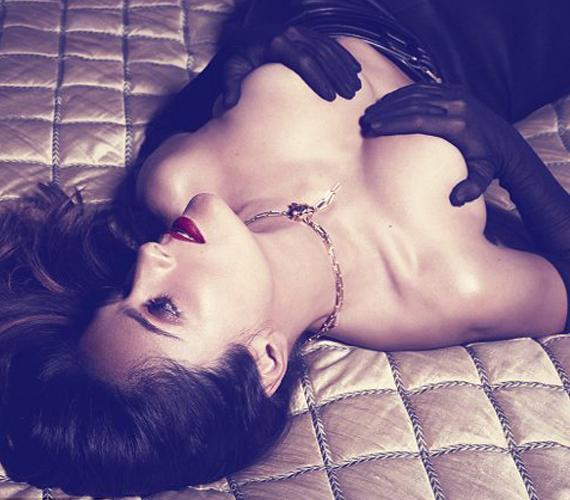 Harper Bazaar magazin fotózását azért vállalta el, hogy bebizonyítsa, nem csak a gebe színésznők lehetnek vonzóak.