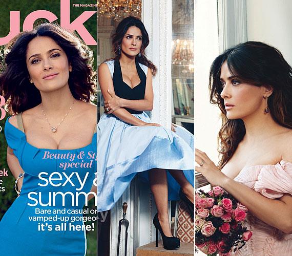 Legutóbb a Lucky magazin májusi számához állt modellt, a címoldalon kék Roland Mouret kreációban láthattuk.