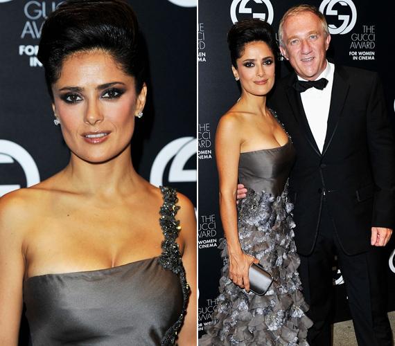 Salma nemrég az Allure magazinnak mesélt a szépséghez és a korhoz való viszonyáról, a színésznő saját bevallása szerint sose használna botoxot.