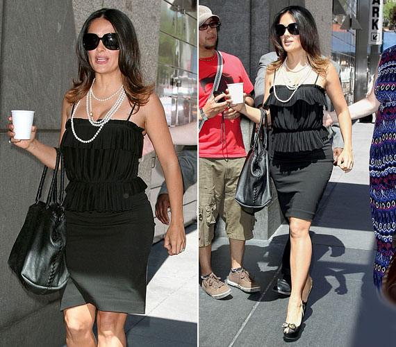 Hollywoodban kevesen tudják jobban viselni a kis feketét.