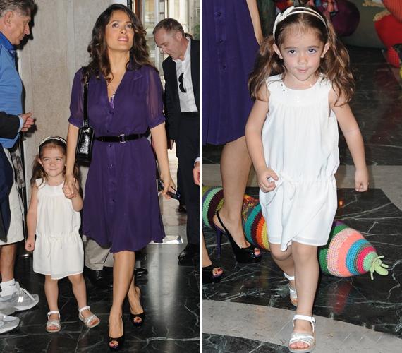 Kislánya, Valentina a mama vonásait örökölte - a csöppség szeptemberben lesz négyéves.