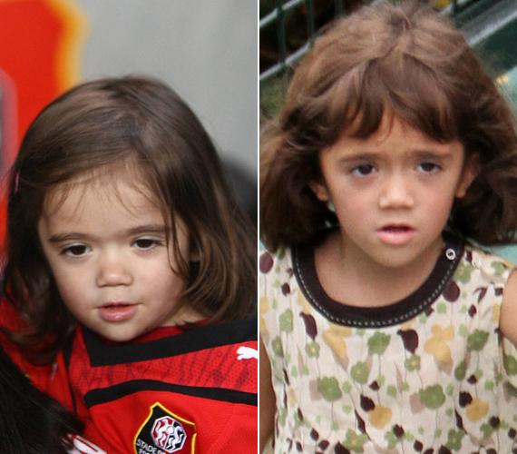 Édesanyja a világ legszebb női között van, lánya inkább az édesapjára, François-Henri Pinaultra hasonlít.
