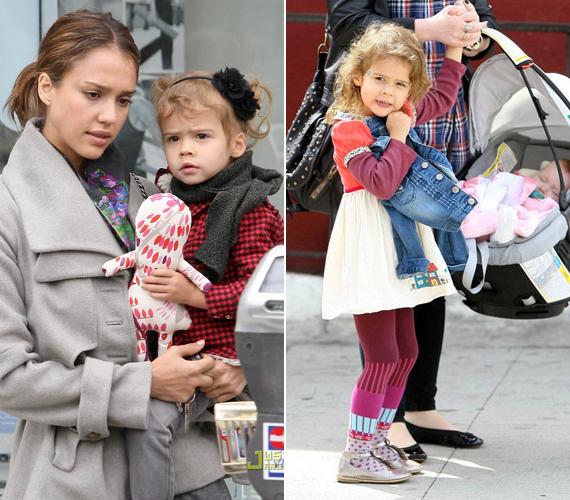 Jessica Alba fent már említett aranyos kislánya, Honor hatéves, és egyáltalán nem csúnya, sőt, tiszta anyja! Igaz, az ő nézése inkább komoly, nem pedig bájos, mint a színésznőé. A hozzászólóknak talán ezzel lehetett bajuk.