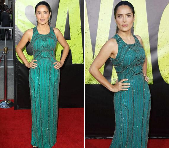 2012-es filmje, a Vadállatok premierjén is egy zöld Gucci ruhában jelent meg.