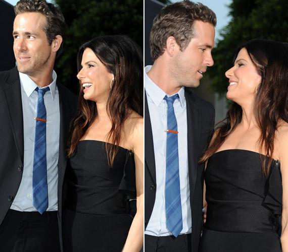 Vajon tényleg csak barátok? Mindkét sztár csúnya váláson van túl - Ryan a szexi Scarlett Johanssont, Sandra pedig csalfa férjét, Jesse Jamest hagyta el.