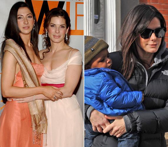 Sandra Bullock jelenleg adoptált kisfiával, Louisszal osztja meg életét, bár a pletykák szerint a frissen elvált Ryan Reynoldsszal is sok időt tölt.