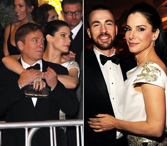 Az Oscar-gálát követően egy középkorú férfi nyakát karolta át, míg a Vanity Fair-partin már egy fiatal férfihoz bújt.