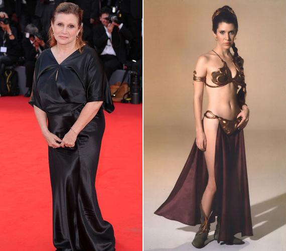 Mindenki Leia hercegnőjének már nem tett annyira jót a kor, Carrie Fisher egyre csak hízott. Most viszont össze kell kapnia magát az 56 éves színésznőnek, ugyanis szerepelni fog az új Csillagok háborúja-filmben.