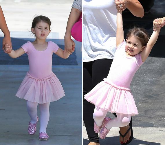 A sztár éppen a kislányát hozta el a balettóráról. Charlotte Grace Prinze 2009. szeptember 19-én született.