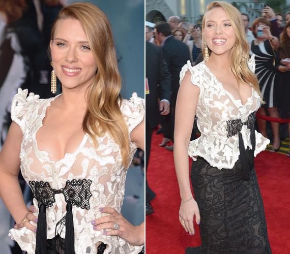 Scarlett Johansson vőlegényével csak augusztus óta randevúzik.