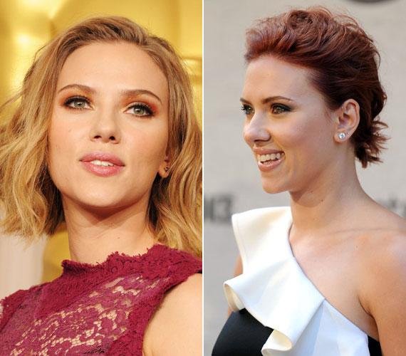 Merész döntés volt Scarlett Johansson részéről, hogy levágatta haját, ám rövid frizurával is lehengerlően nézett ki.