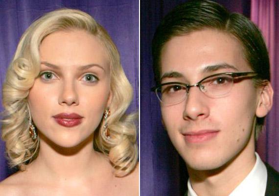 Scarlett Johansson három perccel született korábban, mint ikertestvére.
