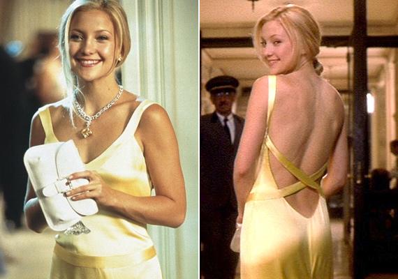 Kate Hudson aranyszínű ruhájára mindenki irigykedett a Hogyan veszítsünk el egy pasit 10 nap alatt? című filmben. Egy korábbi interjúban azt nyilatkozta, hogy azért szereti kis melleit, mert csak ritkán kell melltartót viselnie.