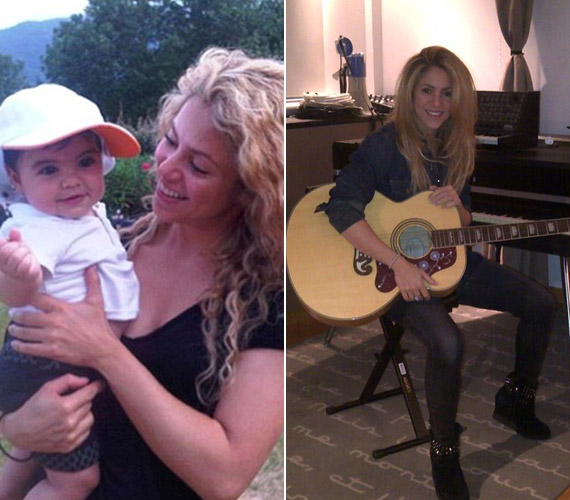 Két fő elfoglaltsága van otthon, vagy kisfiával foglalkozik, vagy saját stúdiójában zenél.