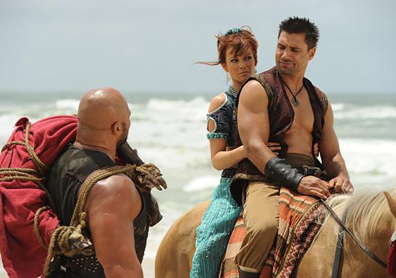 A 2011-es Szindbád és a minotaurusz című tévéfilmben övé volt a címszerep, számos veszéllyel dacolva védelmezte Tara hercegnőt.