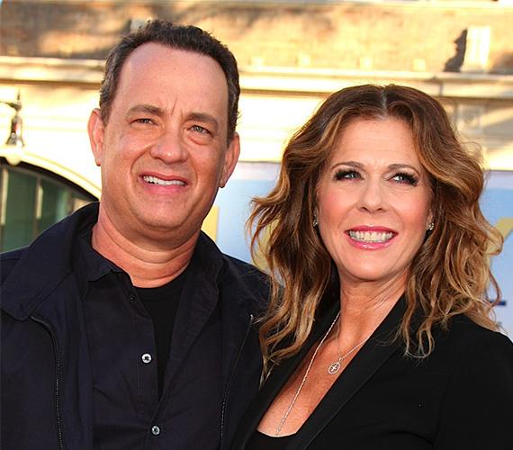 Tom Hanks 1988 óta hűséges férja Rita Wilson-nak.