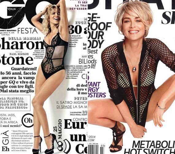 Februárban a Shape magazin címlapján arany bikiniben pózolt, a GQ olasz kiadására pedig fehérneműben került.