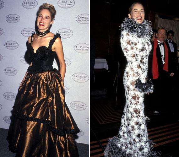 1994-től a feltűnő és többnyire ízléstelen ruhákat részesítette előnyben.
