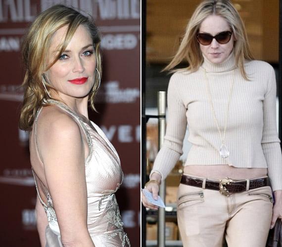 Sharon Stone-t nemrég Beverly Hillsben fotózták le, és bár nem volt kiöltözve, minden tekintet rászegeződött.