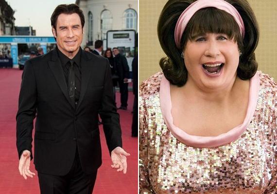 John Travolta a Hajlakkban nemcsak meghízott, de nővé is vált.