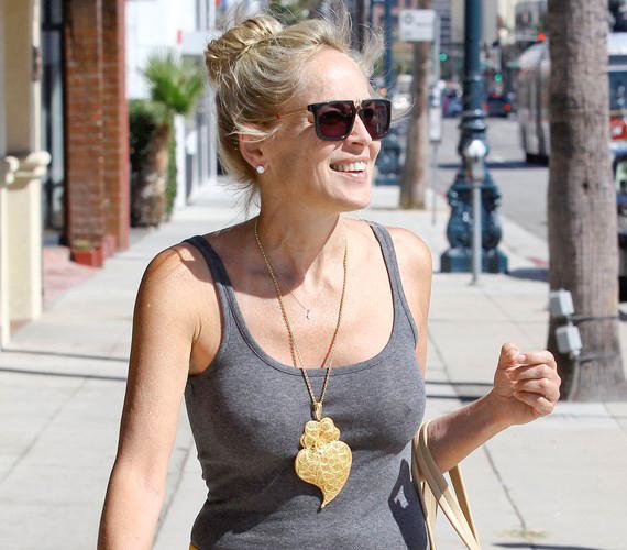 Sharon Stone sosem tartozott a szégyenlős sztárok közé.