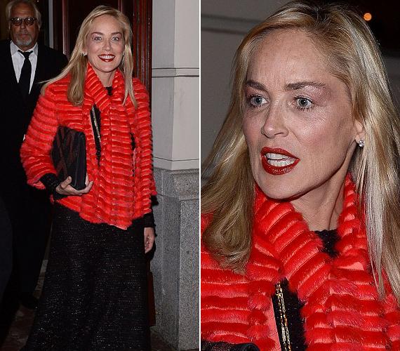 Az 55 éves színésznő nem sokat törődik az illemmel, bár azért a mostani sminkje kevésbé durva, mint az eddigiek.