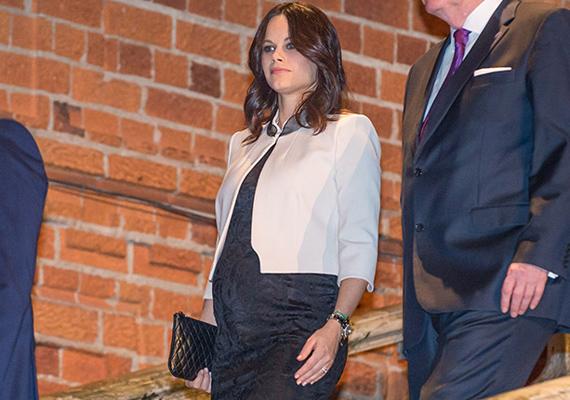 Egy ideje nem szerepelt a nyilvánosság előtt Sofia hercegné, azonban most, hogy a harmadik trimeszterbe lépett, még kevesebbet láthatjuk majd.