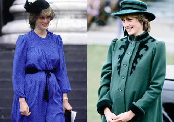 Diana hercegnő igazán bűbájos kismama volt mindkét terhessége idején. Lady Dit nem zavarta a pocakja, ugyanolyan stílusos ruhákba bújt.