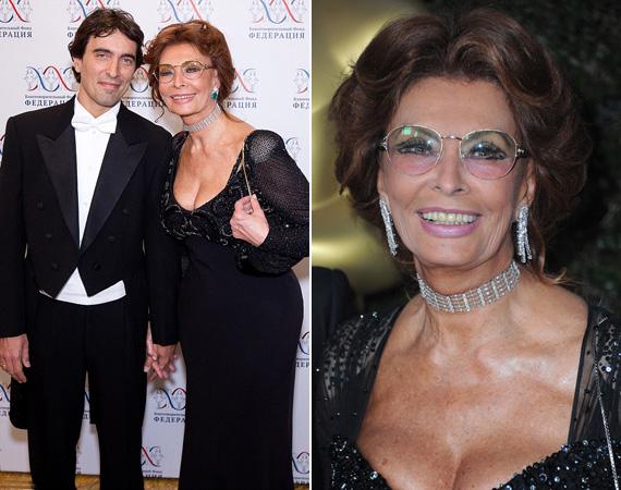 Sophia Lorennek van oka a boldogságra, nemrég négyszeres nagymama lett.