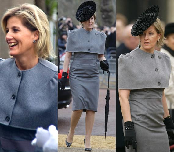 2009 februárjában: nála még egy szürke kosztüm sem szimpla.