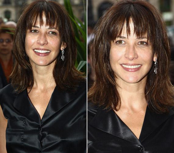A filigrán, barna színésznő leheletnyi sminkkel is elbűvölő - természetességével a francia nők egyik példaképe.