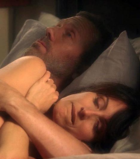 House és Cuddy - Dr. House                         Az ironikus és bicegéséről elhíresült zseni több évadon keresztül kerül állandóan konfliktusba a szabálytisztelő Cuddyval, a hetedik évad elején döbben rá, hogy valójában szerelmes belé. Fél év után azonban véget ér a románc, House pedig visszaszokik a Vicodinra.                         Kapcsolódó cikk:                         Hugh Laurie kiszáll a Dr. House-ból »