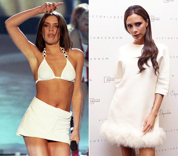 Az 1974-es születésű Victoria Adams mi is lehetett volna más, mint Posh - flancolós, felvágós - Spice! 1999-ben hozzáment David Beckhamhez és mára ő a legismertebb egykori Spice Girls tag. Az énekléssel felhagyott, és divattervezőként próbál érvényesülni, egyre nagyobb sikerrel. Férjével négy gyermekük van, három fiú és egy kislány.