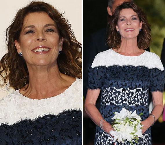Nővére, az 56 éves Caroline hercegnő nyolc évvel idősebb nála, ám arca fiatalosabb: valószínűleg soha nem vitte túlzásba a napozást sem.