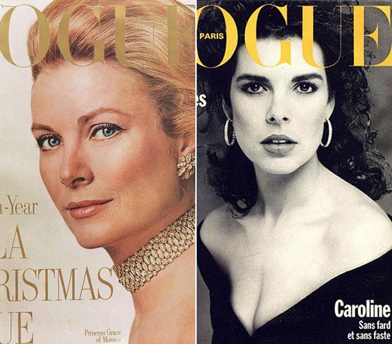 Édesanyja, Grace Kelly és nővére, Caroline hercegnő is szerepelt a Vogue címlapján.