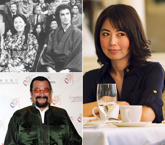 Steven Seagal lánya, Ayako Fujitani 35 éves, színésznőként és íróként dolgozik. A sztár első feleségétől, Miyako Fujitanitól született, akivel Steven Seagal 1975 és 1986 között élt házasságban.