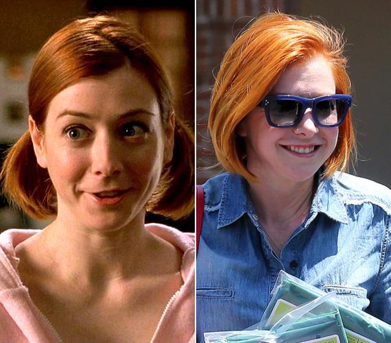 Alyson Hannigan játszotta a furulyatáborba járó Michelle-t, akivel Jim végül összejön. A 40 éves színésznő tinikorától szerepel a tévében, a sorozatrajongók láthatták a Buffy, a vámpírok rémében, majd az Angelben is, 2005-től 2014-ig pedig az Így jártam anyátokkal egyik állandó karakterét, Lilyt játszotta. Szerelmét is a szakmának köszönheti: Alexis Denisoffal a Buffy kapcsán ismerkedett meg - ő játszotta Wesley-t -, két gyermekük van.